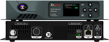 ZEEVEE ZvPro 610i 1-Ch Component or VGA Video Distributor w/VOIP Streaming