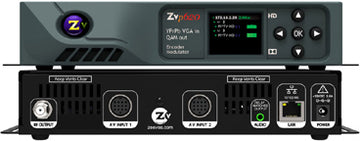 ZEEVEE ZvPro 620i 2-Ch Component or VGA Video Distributor w/ VOIP Streaming