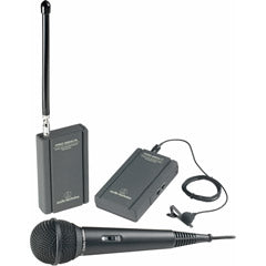 AUDIO-TECHNICA ATR-288W Professional VHF Wireless Camcorder Lavaliere and Hand-Held Microphone Syste