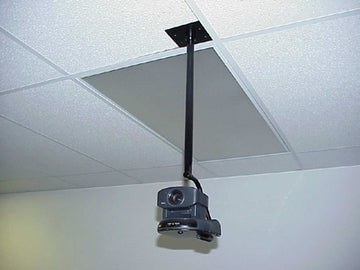 ICI CMDG-70B-218 Ceiling Mount for EVI-D30, Elmo PTC-100S, or Tandberg Wave II for Double Gang Box