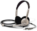 KOSS CS-100 Stereo Headphones with Noise Cancelling Microphone