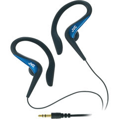JVC HAEB75A Blue Ear-Clip Headphone For Light Sports