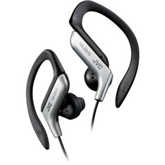 JVC HAEB75S Silver Ear-Clip Headphone For Light Sports