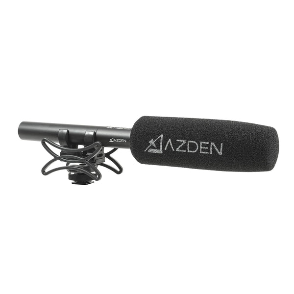 AZDEN SGM-250 Professional Dual Powered Shotgun Microphone