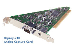 OSPREY 95-00191 Osprey 210 Single Channel PCI A/V Capture Card