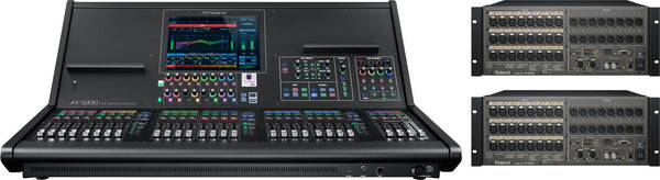 ROLAND M5000-22416 64x48 Digital Mixing System