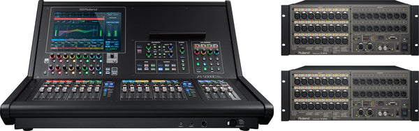 ROLAND M5000C-22416 64x40 Digital Mixing System