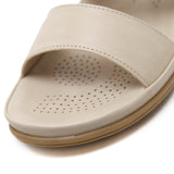 Classy Open Toe Slip-On with Breathable Insole in Two Colors-Diivas