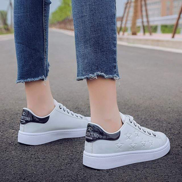 Witte Dames Sneakers - Fashion Stars