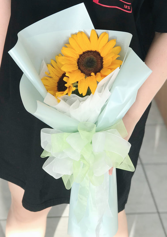 Wrapped Sun Flowers