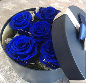Round Box of Forever Roses