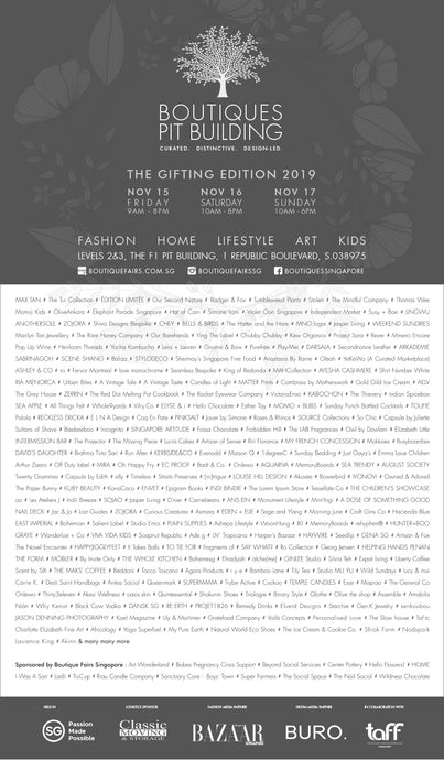 Boutiques Fair - The Gifting Edition