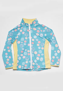 Jo-Jo Sand Dollar Rash Guard