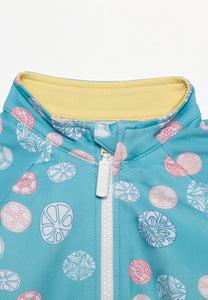 Poppy Sand Dollar Onesie Rash Guard