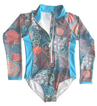 Load image into Gallery viewer, long sleeve one piece rash guard