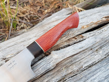 Load image into Gallery viewer, 275mm sujihiki in Nitro-V with she-oak and redgum