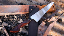 Load image into Gallery viewer, 275mm Gyuto in Nitro-V with Juma and Lace She-Oak