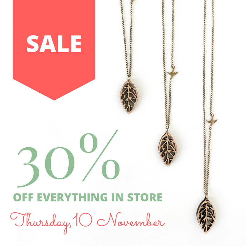 FLASH SALE: 30% off everything!