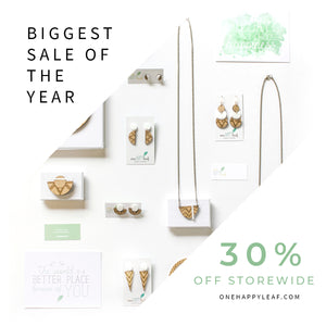 Our biggest sale - 30% off