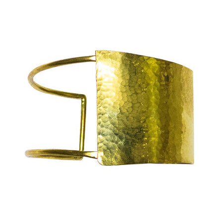 Artisan & Fox- Nguvu Brass Cuff ethical gift guide