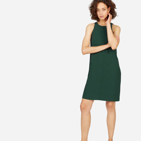 Everlane Japanese GoWeave Dress - 10 sustainable closet essentials for a capsule wardrobe