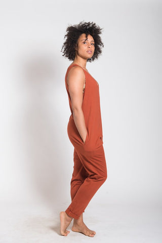 Vege threads - Everyday jumpsuit -10 sustainable closet essentials for a capsule wardrobe