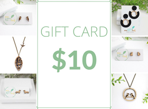 $10 Gift Card for $5