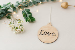 lasercut ornament for christmas
