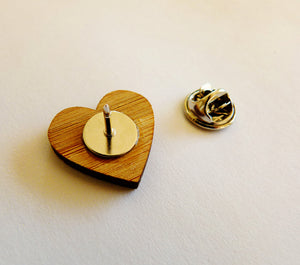 Tie pin - jewellery - eco friendly - sustainable jewelry - jewelry - One Happy Leaf
