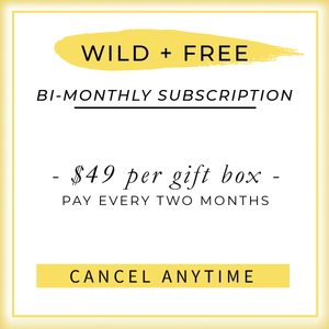 Wild and Free subscription box - jewellery - eco friendly - sustainable jewelry - jewelry - One Happy Leaf
