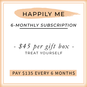 Happily me subscription box - jewellery - eco friendly - sustainable jewelry - jewelry - One Happy Leaf
