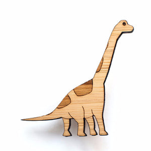 Brachiosaurus brooch - jewellery - eco friendly - sustainable jewelry - jewelry - One Happy Leaf