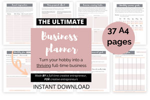 Make It Happen Business Planner ebook (digital file only)