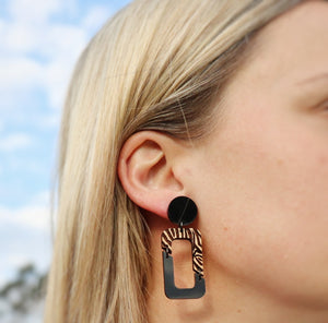 Eco jewellery australia dangle earring