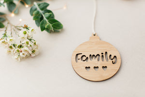 Christmas decoration ornament - Christmas gift for family