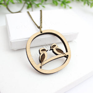 Kookaburra necklace, Australian made