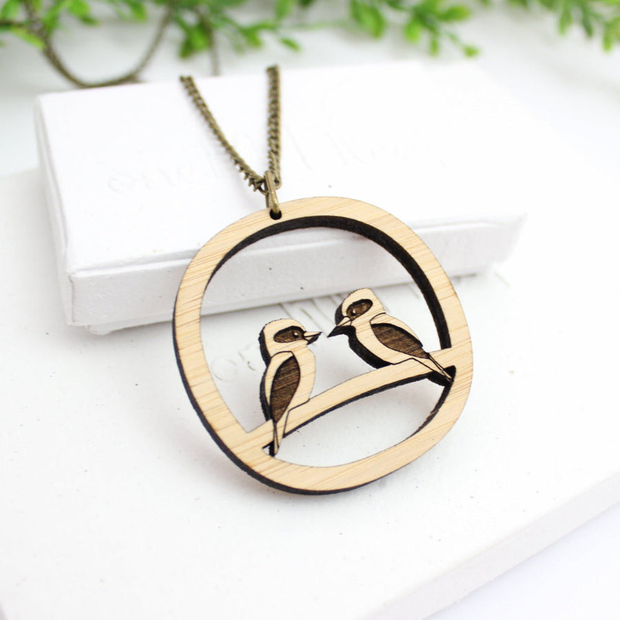 Kookaburra jewellery, Kookaburra necklace