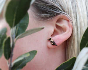 Magpie stud earrings Australia