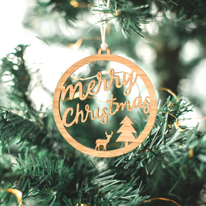 Merry christmas tree ornament'- gift for teacher