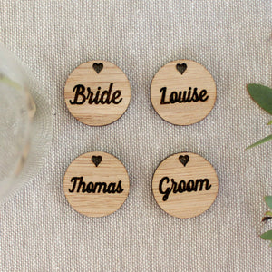Customised wedding favour tags (set of 10) - jewellery - eco friendly - sustainable jewelry - jewelry - One Happy Leaf