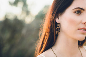 'Seed pod' earrings - jewellery - eco friendly - sustainable jewelry - jewelry - One Happy Leaf