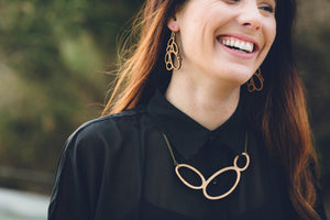 Acacia necklace - jewellery - eco friendly - sustainable jewelry - jewelry - One Happy Leaf