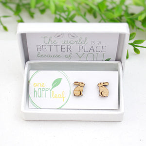 Rabbit bunny earrings