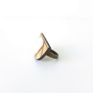 Empress ring - jewellery - eco friendly - sustainable jewelry - jewelry - One Happy Leaf