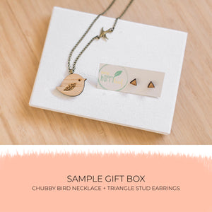 'Just Lovely' subscription box - jewellery - eco friendly - sustainable jewelry - jewelry - One Happy Leaf