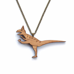 T-Rex necklace - jewellery - eco friendly - sustainable jewelry - jewelry - One Happy Leaf