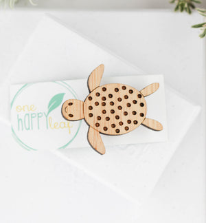 Turtle brooch, turtle jewellery