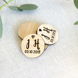 Wedding favour tags (set of 10) - jewellery - eco friendly - sustainable jewelry - jewelry - One Happy Leaf