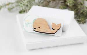 Whale pin, marine jewelry