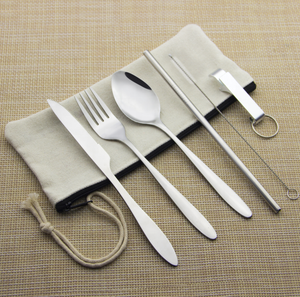 zero waste utensil set travel gift